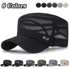 Baseball Hat, Summer, Outdoor, flatcapshatsformen