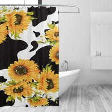 Shower, polyesterfabricshowercurtain, Hotel, waterproofshowercurtain