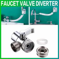 kitchensupplie, Bathroom, wallmounted, faucetvalvediverter