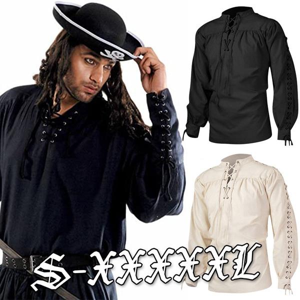 vikingshirt, clothesformen, Fashion, Cosplay