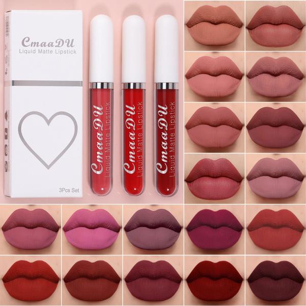Lipstick, lipgloss, Waterproof, Cup