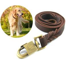 Rope, Medium, leatherdogleash, dogleashstrap
