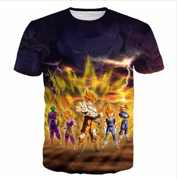 Mens T Shirt, Fashion, Necks, Dragon Ball Z