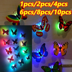 butterfly, cute, led, Home & Living