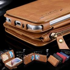 leather wallet, Metal, purses, Phone