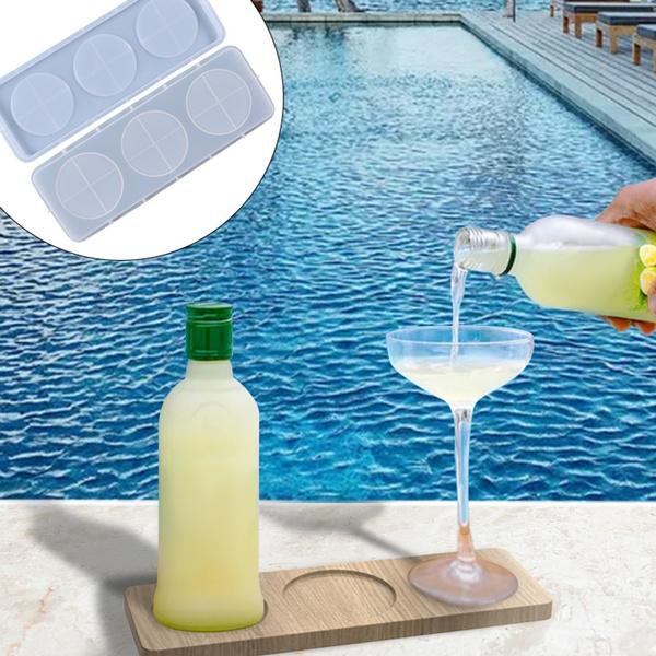 tray, crystalepoxymould, wineglassrack, Crystal