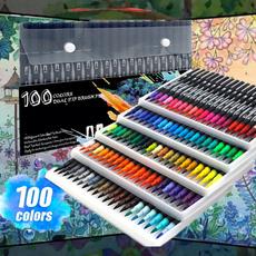 artmarkerpen, art, watercolorbrush, fineliner
