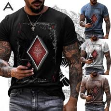 Summer, Fashion, Shirt, maleshortsleevedtshirt