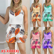 Summer, Shorts, women beachwear, summer tank top