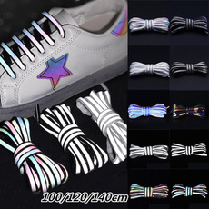 Sneakers, Holographic, Laser, shoelaces