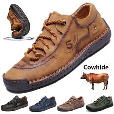 casual shoes, Plus Size, leather shoes, men's fashion shoes