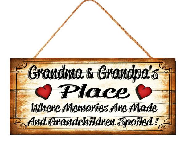Funny, grandpagift, hangingplaque, Family