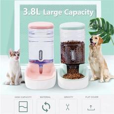 largecapacitypetbowl, waterdispenserforpet, petfeeder, Pets