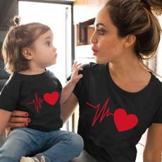 Summer, Plus Size, Heart, Graphic Shirt