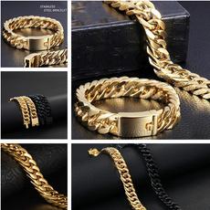 black bracelet, Fashion, Jewelry, hiphopbracelet
