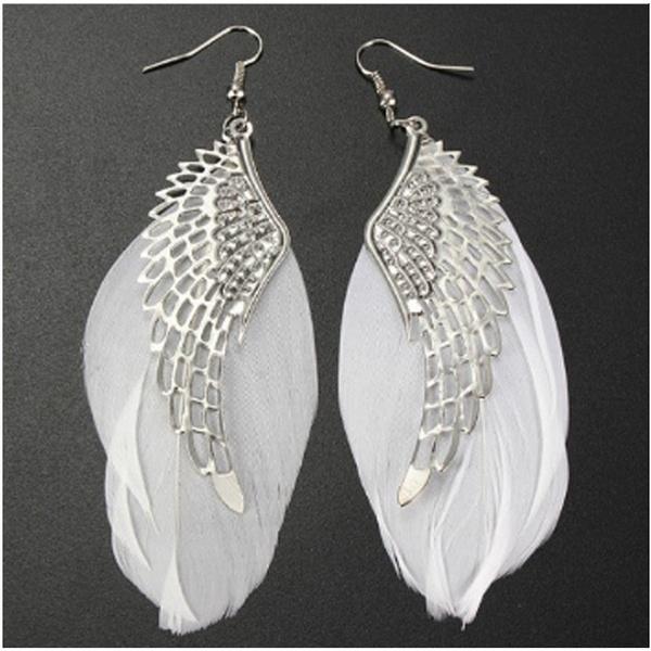 Dangle Earring, Jewelry, Angel, boho