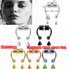 Steel, nosepiercing, Stainless Steel, Jewelry