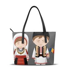 womencasualbag, tunic, tasselshoulderpurse, Tote Bag