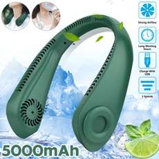 Mini, neckfan, portable, Cooler