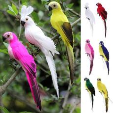 Garden, Parrot, gardensculpture, simulationparrot