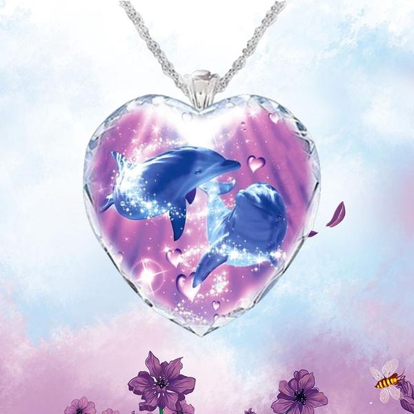 Fashion, Love, Crystal Jewelry, Glass