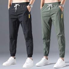 drawstringpant, Summer, cottonpant, skinny pants
