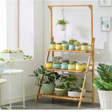 storagerack, Plants, plantshelf, flore