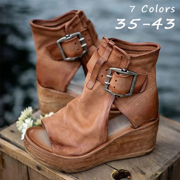 wedge, Sandals, Women Sandals, boho