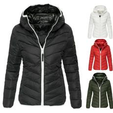 slim, cottonpaddedpufferwomen, wintercottonjacketwomen, ladysfashioncottoncoat