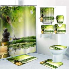 Shower, Polyester, Bathroom Accessories, fashionshowercurtain