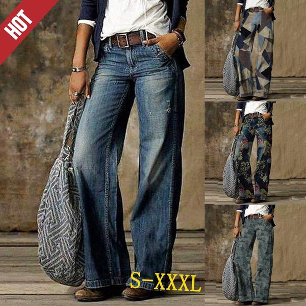 Fashion, casualtrouser, high waist jeans, pants