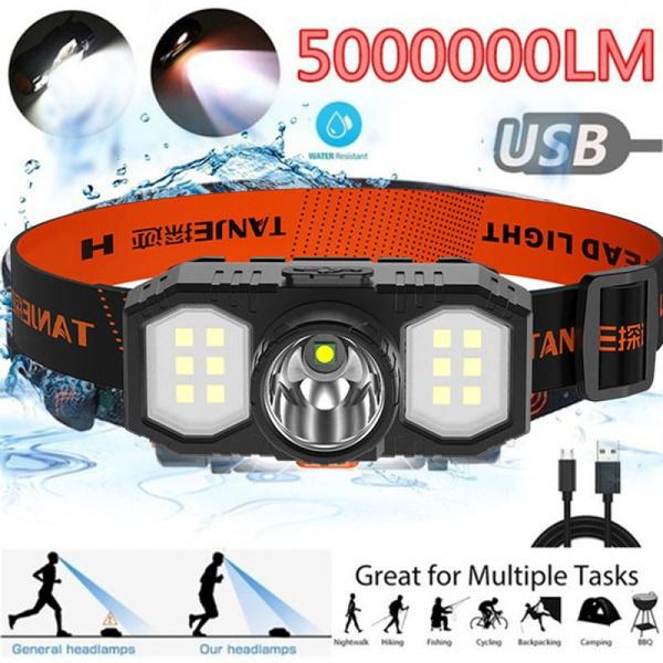 LED Headlights, Night Light, Waterproof, Battery