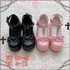 Heart, Platform Shoes, highheelsforwomen, cute