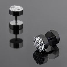 Steel, Jewelry, Earring, unisex