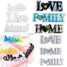 lettersmold, Heart, castingresinmold, lettersresinmold