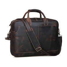 brown, Totes, business bag, leather
