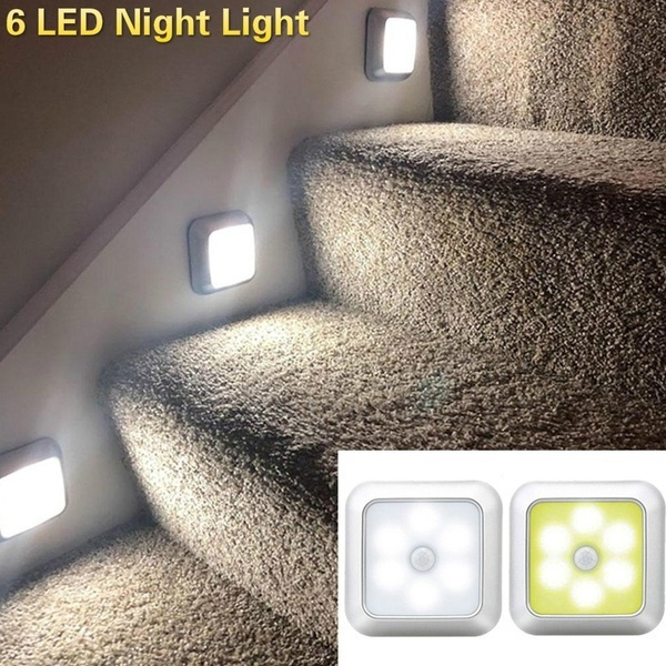 auto lights, led, stair, Closet