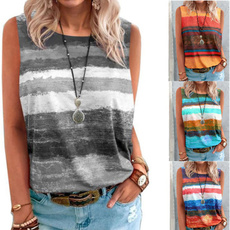 Summer, Plus size top, printed shirts, summer t-shirts