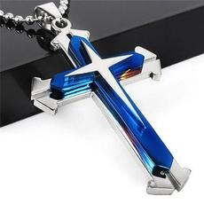 Steel, Blues, Chain Necklace, Necklaces Pendants