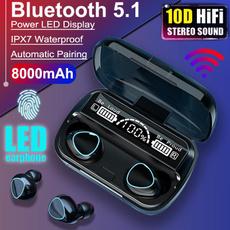 Box, Headset, bluetoothearphoneswithmic, wirelessearphone