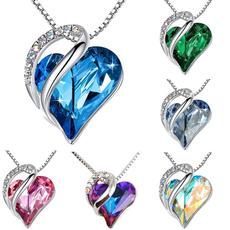 Heart, Love, Chain, Emerald