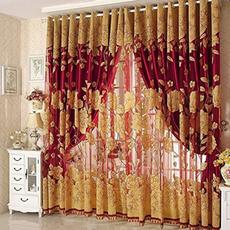 bedroomcurtain, decoration, tulle, grommetcurtain