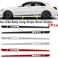 Car Sticker, Waterproof, Stripes, Automotive