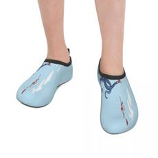 beach shoes, octopusdarkhumorkidsadultwatershoe, customshoe, water