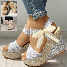 Sandals & Flip Flops, Sandals, Lace, summersandal