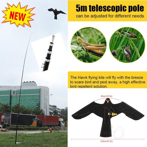 extendablebirdrepeller, birdscarer, Toy, Gardening