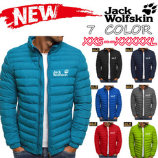 Down Jacket, jackwolfskincoat, Winter, Coat