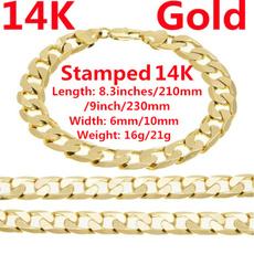 yellow gold, hip hop jewelry, 14ksolidgoldbraceletformen, Jewelry
