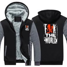 Thicken, theworld, Coats & Outerwear, Fleece Hoodie