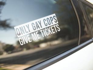 Car Sticker, Home Decor, gay, Stickers